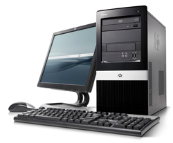 HP TCR DX2400 NN699ES C2D E7400 2GB 250GB DOS MT